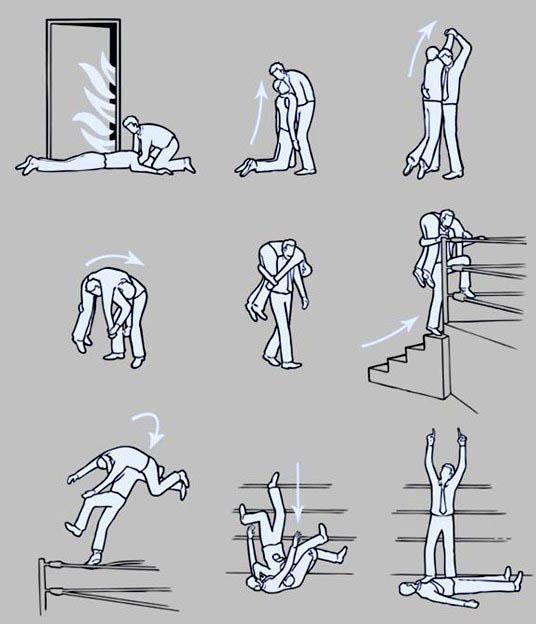 Como prosseguir em caso de incêndio